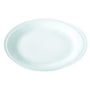 "Porcelain pizza plate 12"" / 30cm white - Pillivuyt"