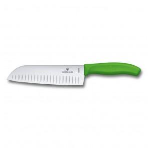 Couteau de cuisine universel japonais type Santoku - lame 13cm en céramique fine - Céramique Classique - Forever