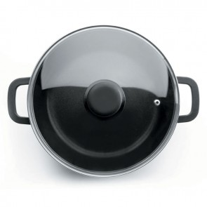 Faitout rond induction en fonte d'aluminium - Ø 16 cm - Fonte Forte - Lacor