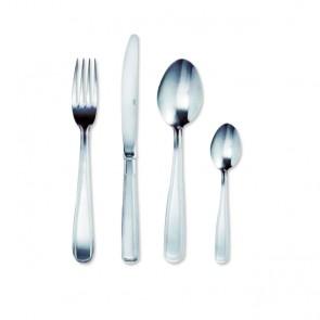 Fourchette de table en inox 18/0 2mm - Lot de 6 - Double Filet - Amefa