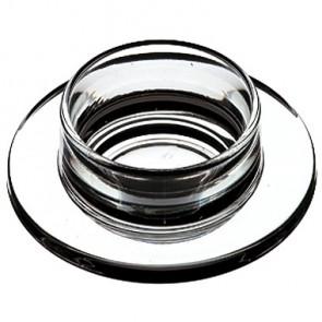 Beurrier ou confiturier en verre Ø 9,5cm - A l'unité - Abeille - La Rochère