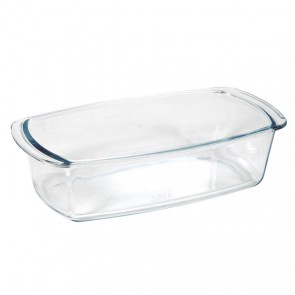 "Rectangular glass mold 26.9 x 14cm / 10.3 x 5.5"""