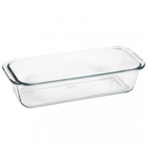 "Rectangular glass mold 31 x 12.6cm / 12 x 5"""