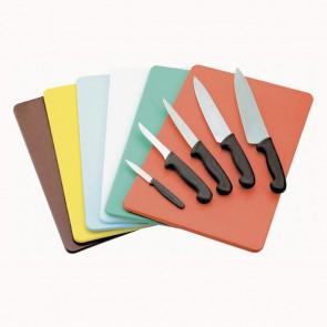 Planche à découper marron 45 x 30 x 1cm en polyéthylène - AZ Boutique