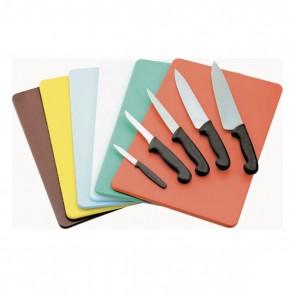 Planche à découper verte 45 x 30 x 1cm en polyéthylène - AZ Boutique