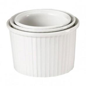 Ramequin haut blanc 11cl / 7cm en porcelaine - Pillivuyt