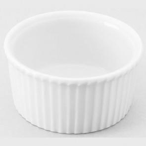 Ramequin plissé blanc 7cl en porcelaine 7cm - Buffet - Pillivuyt
