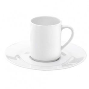 Tasse moka blanche 8cl en porcelaine - Valencay - Pillivuyt