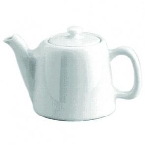 Standard porcelain teapot 4 servings 17oz / 50cl white - Paris - Pillivuyt