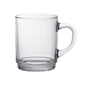 Clear Mug  9 1/8oz  / 26cl - Sold by 6