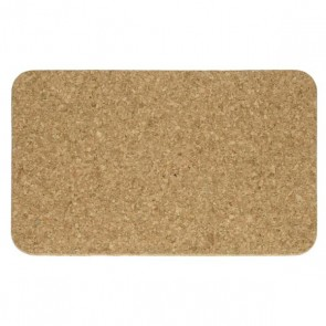 Plate mat rectangular in cork - Set of 2