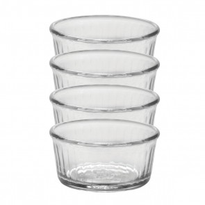 "Ramekin 3"" / 8.5cm transparent - Set of 4 - Duralex"