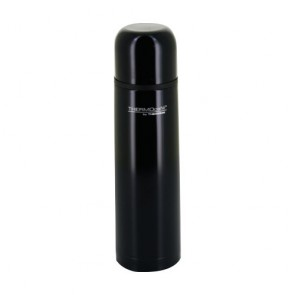 Stainless steel insulated bottle 24oz / 70cl shiny black