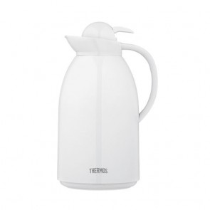 Stainless steel insulated carafe 51oz / 1.5L white