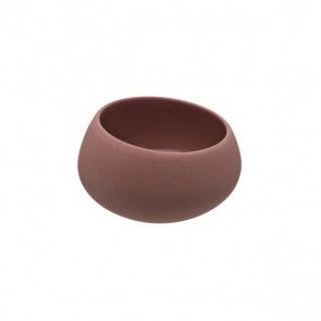 Sandstone gourmet mini bowl 2oz/7cl pink - singly sold