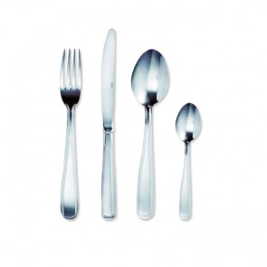 Fourchette de table en inox 18/0 2mm - Lot de 6 - Double Filet - Amefa