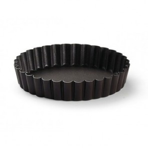 6cm non-stick fluted plain mold
