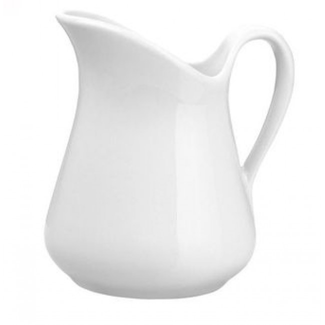 Milk jug Mehun porcelain 9oz / 27cl white
