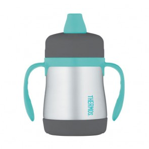 Soft sippy cup with handles 7oz / 21cl blue