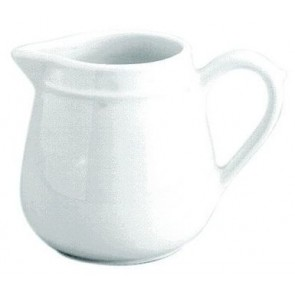 Standard porcelain pot 3oz / 8cl white