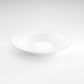 "Soup plate 9"" / 23cm white - Basket - Pillivuyt"