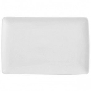 "Rectangular dish 16x6"" / 40x16cm white - singly sold"