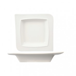 "White porcelain deep plate/pasta bowl 7""/19cm - Singly sold"
