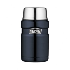 Stainless steel insulated food flask 71cl / 24oz blue