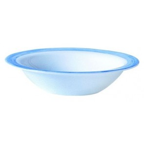 Bowl blue / white 12cm - Singly sold
