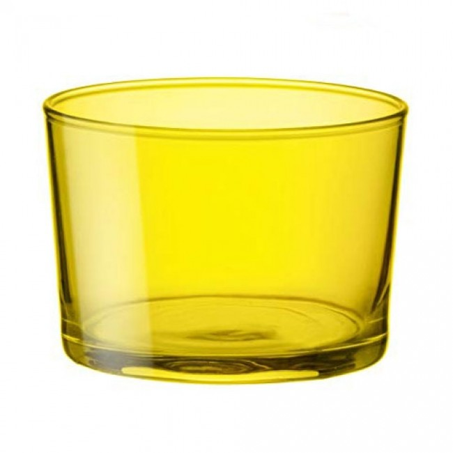 Yellow appetizer glass 7 oz / 20 cl - Set of 3