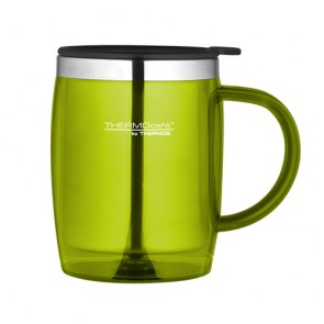 Insulated desk mug 45cl / 15oz lime