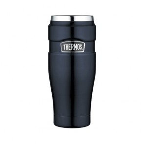 Stainless steel insulated mug 47cl / 16oz blue