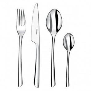 Dessert spoon - 3.5mm thick 18/10 stainless steel - Set of 6