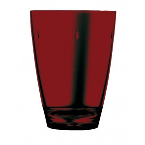 Dark red polycarbonate goblet 45cl – Sold by 6