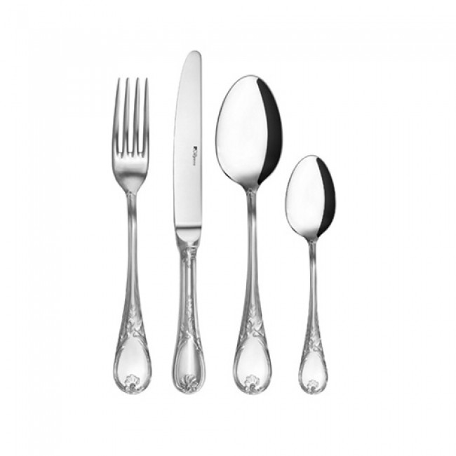 96 pieces cutlery set stainless steel 18/10 mirror finishing - Marquise - Guy Degrenne
