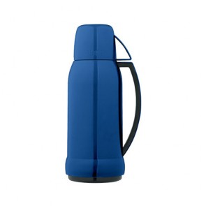 Insulated bottle 34oz / 1L blue