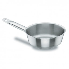Sauteuse conique en inox 18/10 - Ø 24 cm - Chef Classic - Lacor