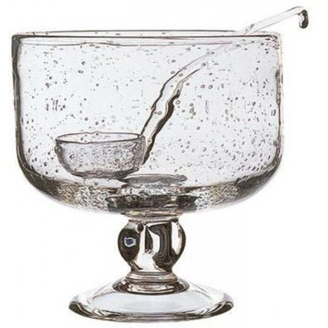 Crystalline bubble sangria / punch bowl 202oz / 600cl - Sangria - La Rochère