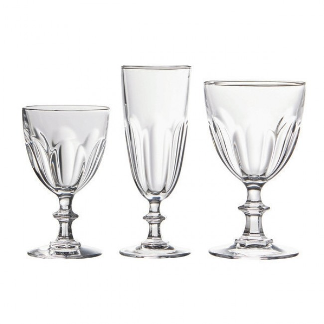 Verre à vin à pied empilable 28cl - Lot de 6 - Colosseo - Bormioli Rocco