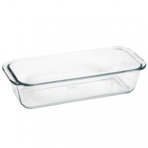 Rectangular glass mold 31 x 12.6cm / 12 x 5""