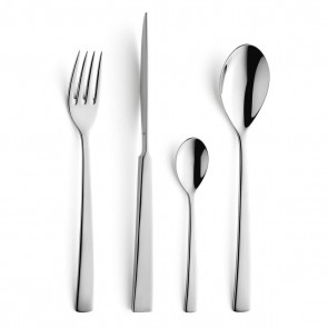 24 piece cutlery set 18/10 stainless steel mirror-finished - Aurora - Amefa