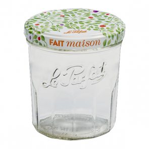 "Glass jam jar 11oz / 324ml with 3"" / 82mm screw lid"