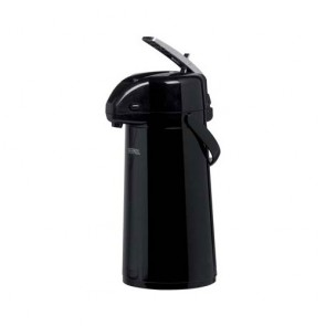 Pump pot with lever 34oz / 1.3L black