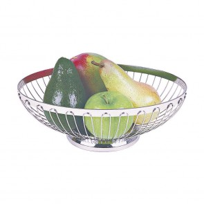 Corbeille à fruits ovale 20cm - Inox 18/8 - Paderno