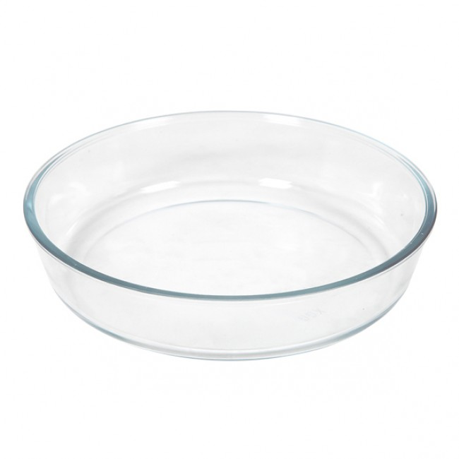 Glass pie dish 26.2 x 6cm / 10.2 x 2.4""