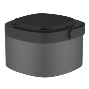 Insulated food flask 35cl / 12oz grey