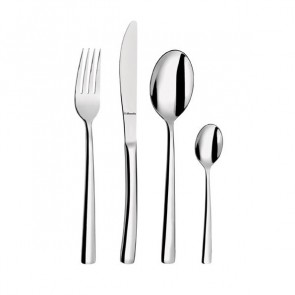 Dessert spoon 18/0 inox 3mm mirror finishing - Set of 6 - Havane Amefa