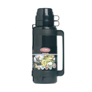 Insulated bottle 34oz / 1L black