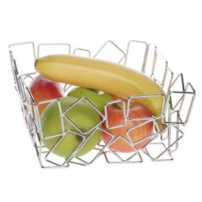 Fruit basket square 22 x 22 cm / 9 x 9""