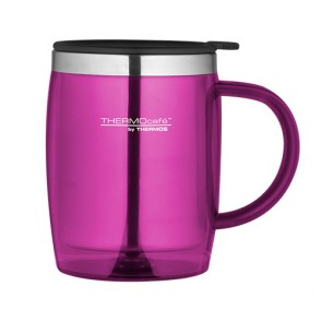 Insulated desk mug 45cl / 15oz pink